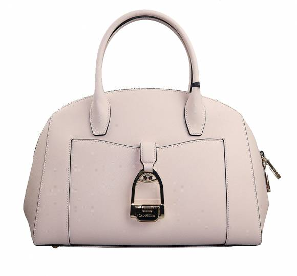 Γυναικεία Τσάντα La Martina Large Handbag NINA 41W430 04160 Whisper pink leather
