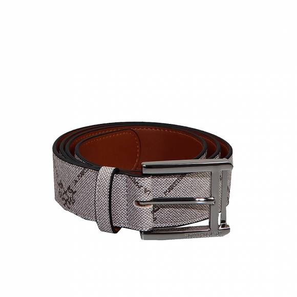 Ανδρικες Ζώνες  La Martina Man Belt 41M165 P0017 F4013 Nomad Choco Brown
