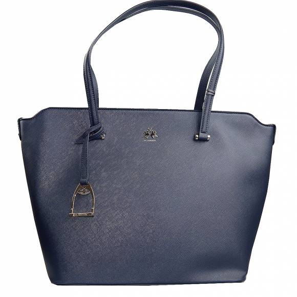 Γυναικεία Τσάντα La Martina Shopping bag medium VALERIA 41W501 P0020 07017 Navy