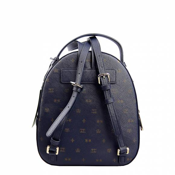 Γυναικεία Τσάντα La Martina backpack bag IDA 41W281 P0031 F7259 Navy Golden Glow