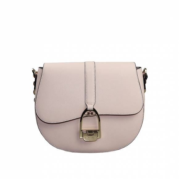 Γυναικεία Τσάντα La Martina small shoulder bag Nina 41W433 P0034 04160 Whisper pink leather