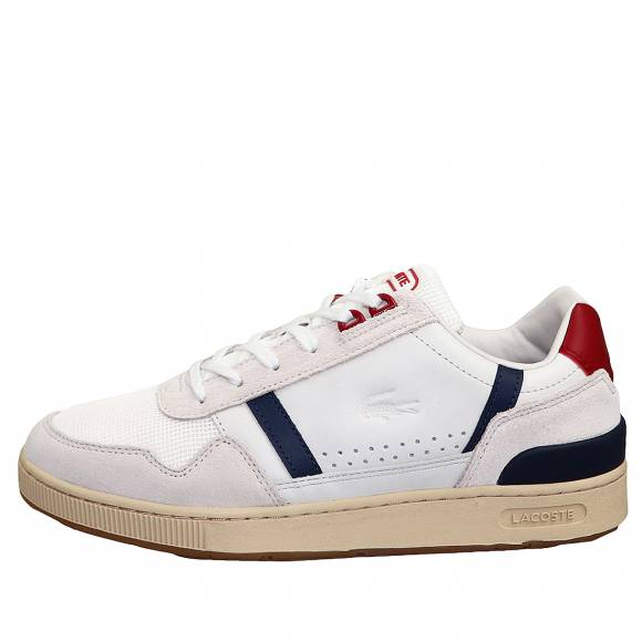 Ανδρικά Sneakers Lacoste TCLIP 120US SMA 7 39SMA00578R1 Off Wht Nvy Red