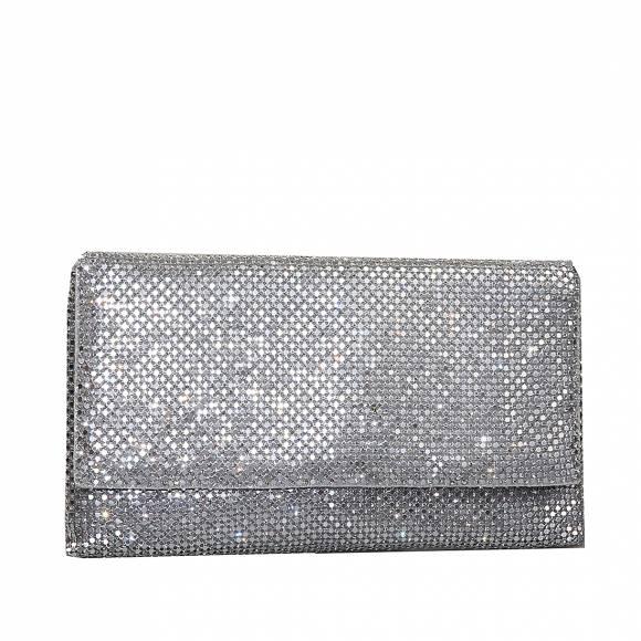 Γυναικεία clutch 84735 0009 Silver