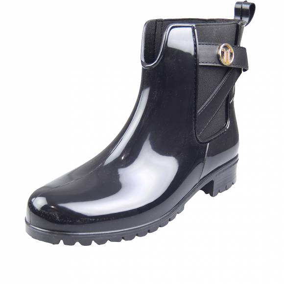Γυναικεία Rain Booties Miss Envie V22 12100 34 Black