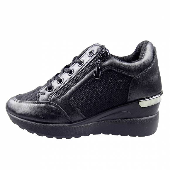 Γυναικεία Sneakers Miss Envie V85 12408 34 Black