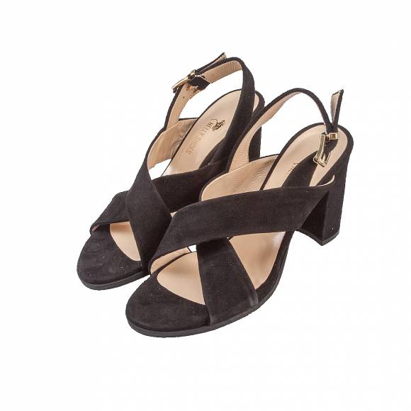 NELLY SHOES 099 55 BLK