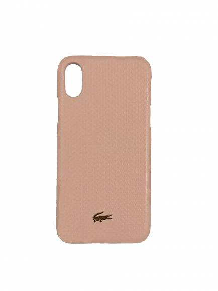 Lacoste NF2709CE Mellow Rose Iphone case X Split Cow Leather