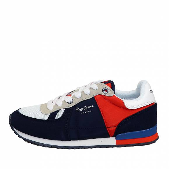 Παιδικά Sneakers Pepe Jeans PBS30428 595 Sydney Basic Boy SS20 Navy