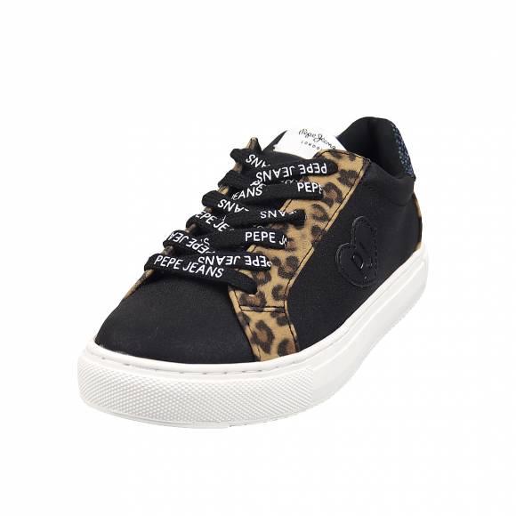 Παιδικά Sneakers Pepe Jeans PGS30455 999 Adams Cmbi Leopard Black