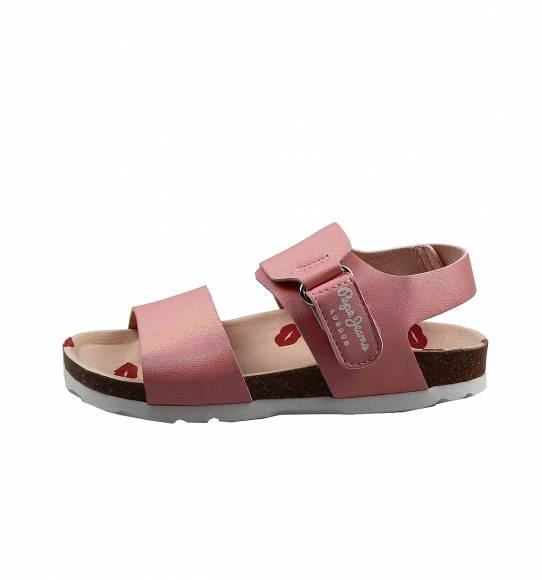 Παιδικά Σανδάλια Pepe Jeans PGS90153 325 Bio Iris Kids Pink