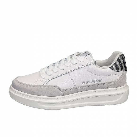 Γυναικεία Sneakers Pepe Jeans PLS30964 800 Abbey Lines White