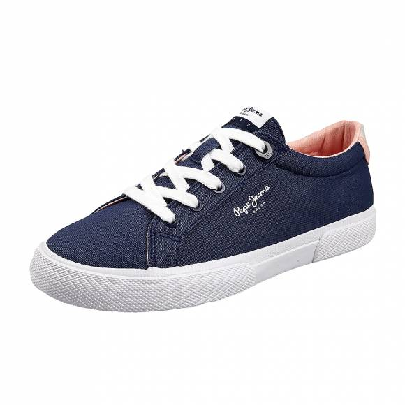 Γυναικεία Sneakers Pepe Jeans PLS30990 561 Kenton Basic woman indigo
