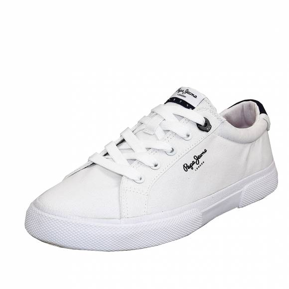 Γυναικεία Sneakers Pepe Jeans PLS30990 800 Kenton Basic woman white