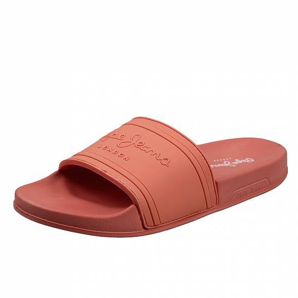 Γυναικείες slider Pepe Jeans PLS70081 179 unisex coral