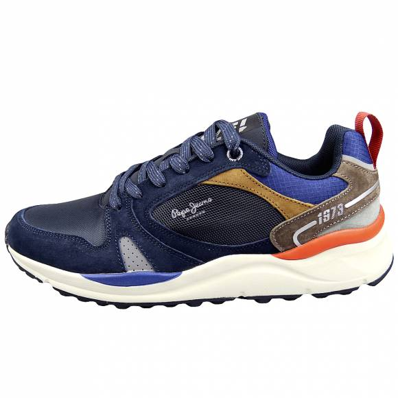 Ανδρικά Sneakers Pepe Jeans PMS30679 595 Trail Light Low Navy