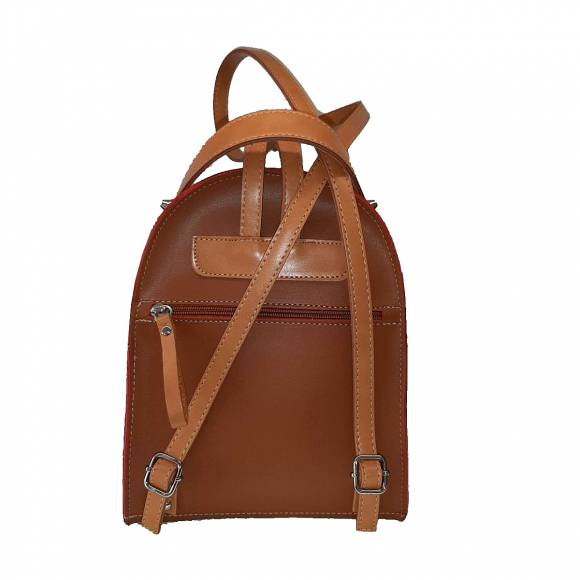 Γυναικεία Τσάντα Backpack Eco Leather Pierro Accessories 90551EC11 Tabba