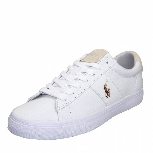 Ανδρικά Sneakers Polo Ralh Lauren Sayer Ne 816749369003 Sk Vlc White