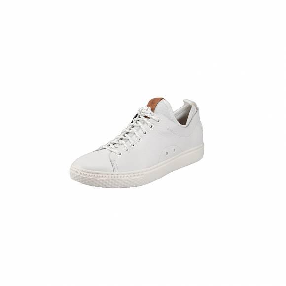 Ανδρικά Δερμάτινα Sneakers Polo Ralph Lauren Dunovin 816713104001 Sk Ath White