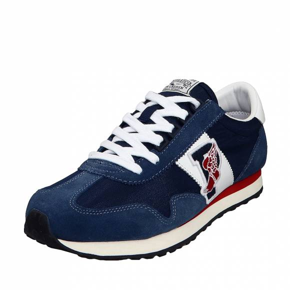 Ανδρικά Sneakers Polo Ralph Lauren Train 90 809736258004 Sk Ath Navy Mu