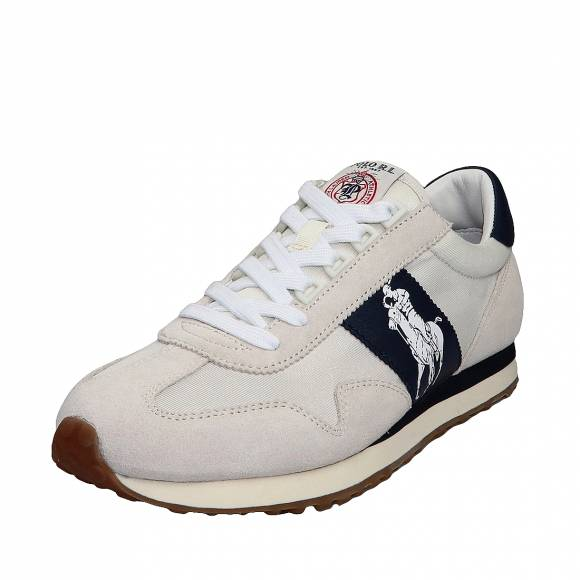 Ανδρικά Sneakers Polo Ralph Lauren Train 90 809755192003 PP Sk Ath Eg Wht