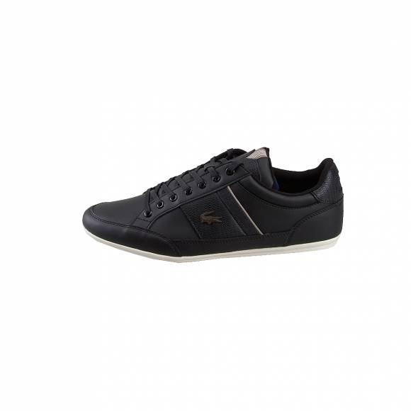 Ανδρικά Δερμάτινα Sneakers Lacoste 7 38CAM00212H5 Chaymon 319 1 CMA BLK KHK Synthetic Leather