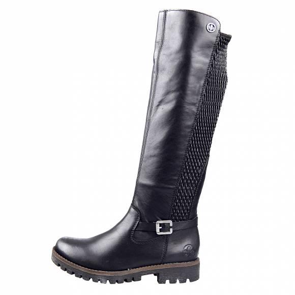 Γυναικείες Μπότες Rieker 78592 00 Black
