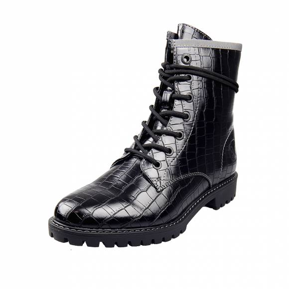 Γυναικεία Bike Boots S.Oliver 5 25219 25 054 Black Croco