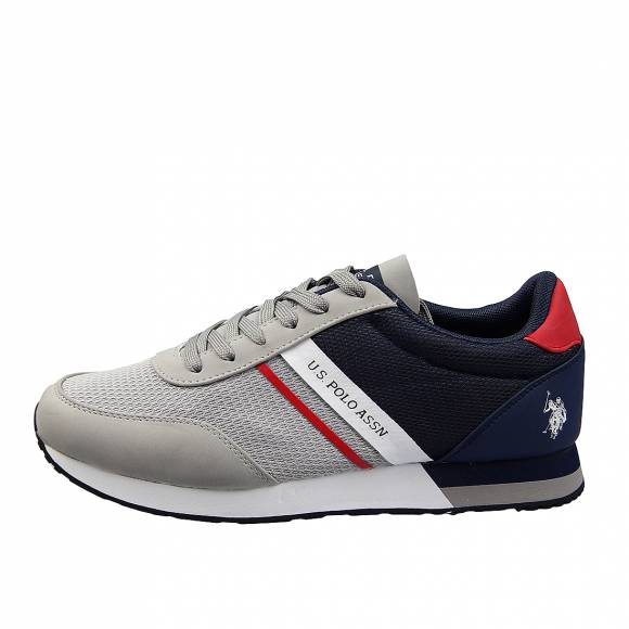 Ανδρικά Sneakers Us Polo Assn Brandon Grey Navy