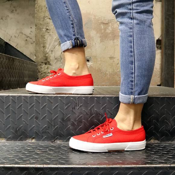 Γυναικεία Sneakers Superga 2750 Cotu Classic Red S000010 C90