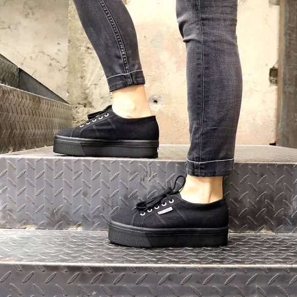 Γυναικεία Sneakers Superga 2790 A Cotw Linea Up And Down S0001L0 996 Full Black