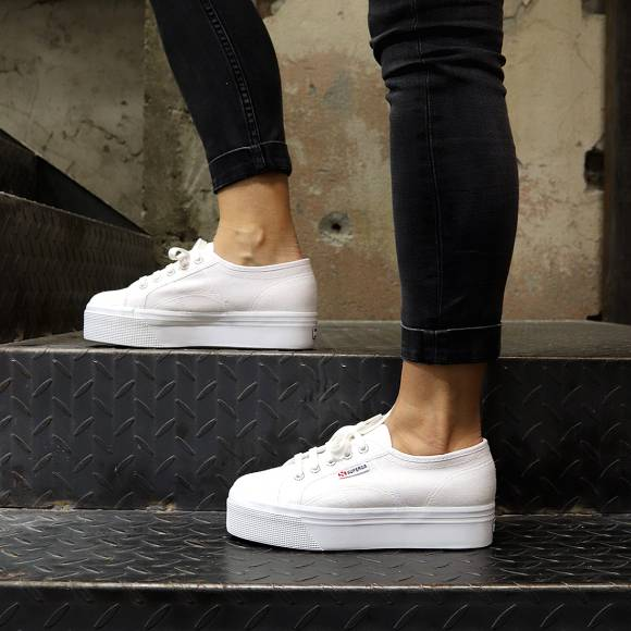 Γυναικεία Sneakers Superga 2790 A Cotw Linea Up And Down S0001L0 901 White