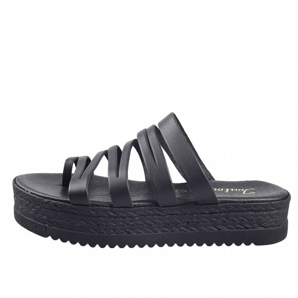 Γυναικεία Flatforms Toutounis 26400 Black