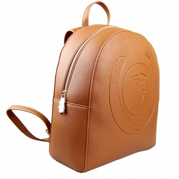 Γυναικεία Τσάντα Backpack Trussardi 75B01025 9Y099999 B660 Faith Backpack Tumbled Ecoleather Cuoio