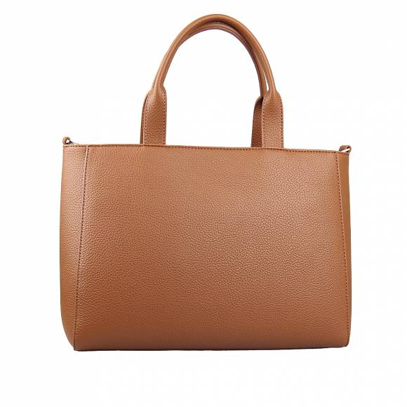 Γυναικεία Τσάντα Trussardi 75B01032 9Y099999 B660 Shopper Md Tumbled Ecoleather Cuoio