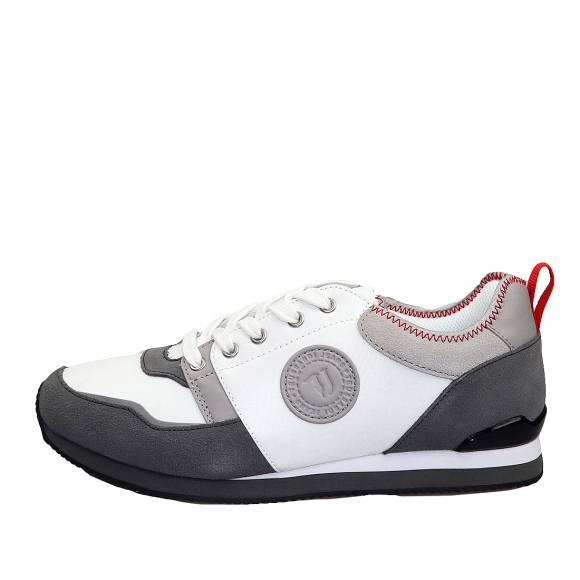 Ανδρικά Sneakers Trussardi Running Pu Nylon 77A00245 9Y099999 E698 Grey Red