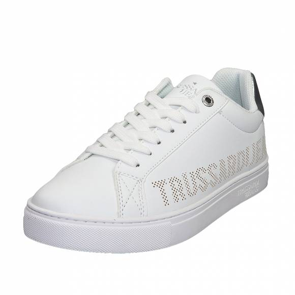 Γυναικεία Trussardi Sneaker perforated 79A00465 9Y099999 W001 White