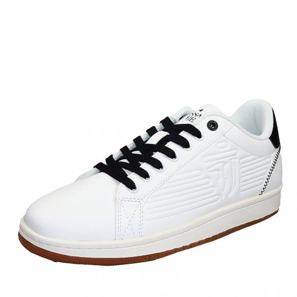 Ανδρικά Sneakers Trussardi 77A00215 9Y099999 W601 Logo High Freqency White Black