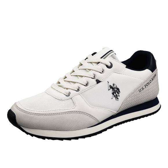 Ανδρικά Δερμάτινα Sneakers Us Polo Assn Bryson Off wilys4123S0 YH1