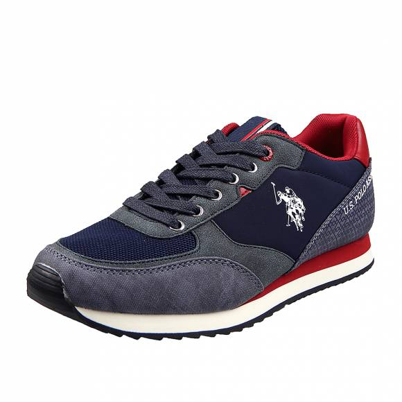 Ανδρικά Δερμάτινα Sneakers Us Polo Assn Bryson Wilys4123S0 YH1 Dark Blue
