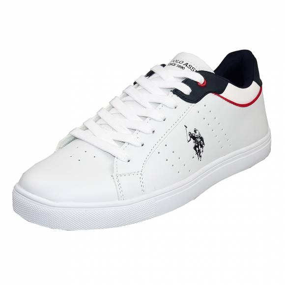 Ανδρικά Sneakers Us Polo Assn Curt White Dark Blue Curty 4244S0 Y1