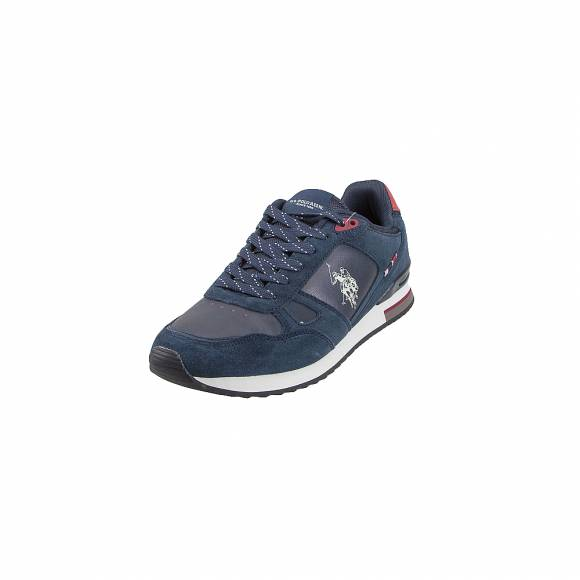 Ανδρικά Δερμάτινα Sneakers Us Polo Assn Ferry 4083W8 SY2 Wilde2 DkBl
