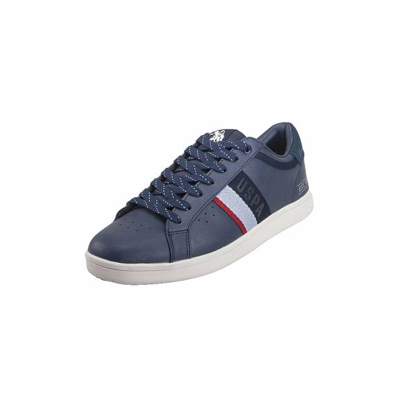 Ανδρικά Δερμάτινα Sneakers Us Polo Assn Icon1 Club Jarden4052S9 Y1 DKbl