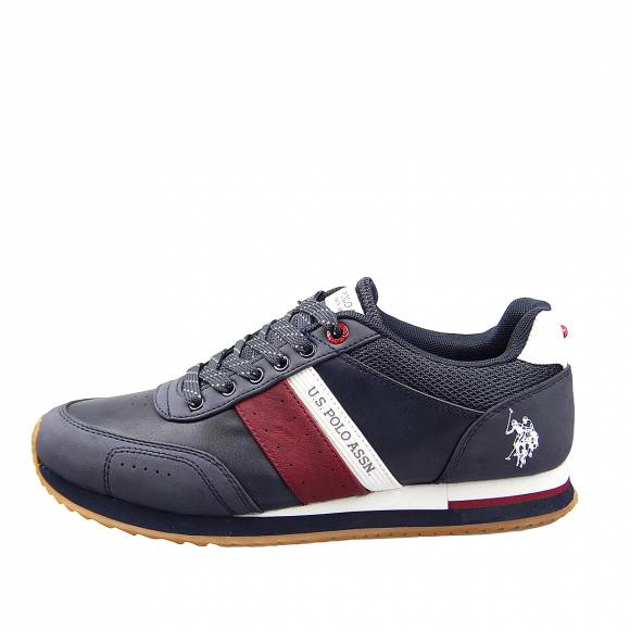 Ανδρικά Sneakers Us Polo Assn Jason Dark Blue Red