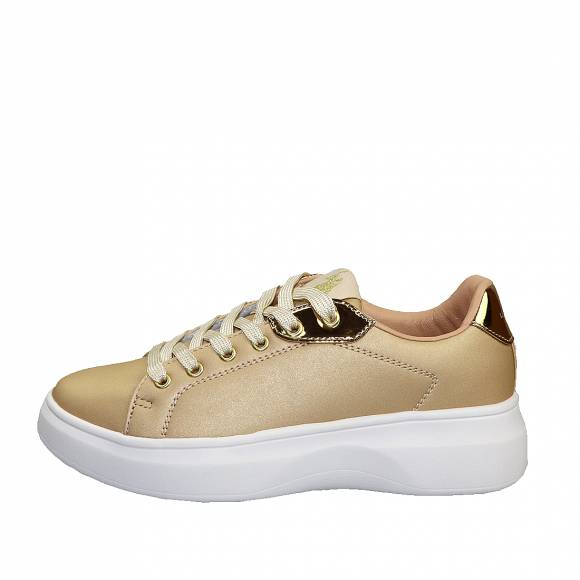 Γυναικεία Sneakers Us Polo Assn Monique Shine Gold Jewel4128S0 Y2