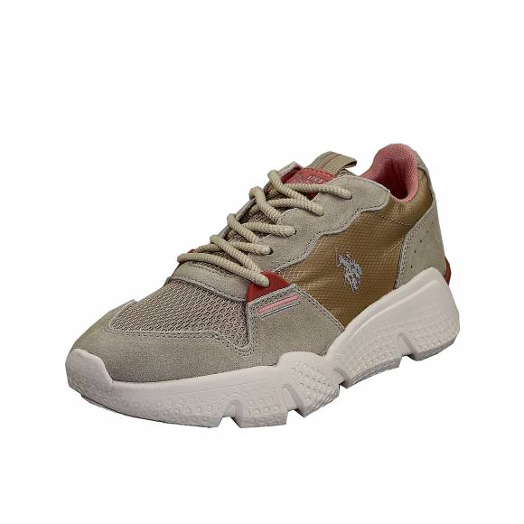 Γυναικεία Sneakers Us Polo Assn Willow Beige Becky4144S0 MS1