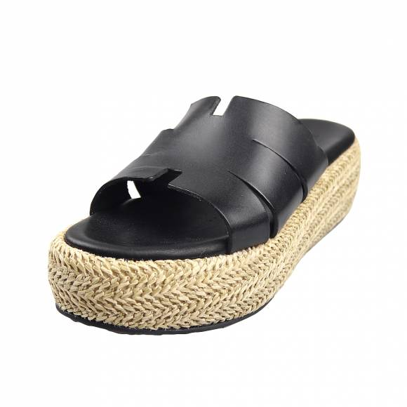 Γυναικεία Flatforms Verraros 128 Black