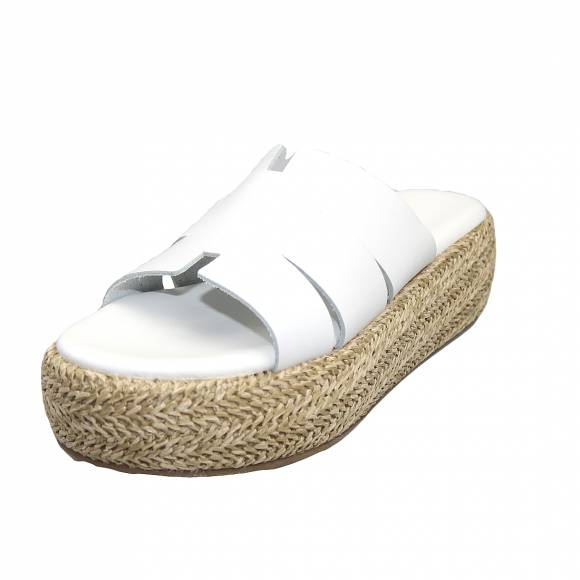 Γυναικεία Flatforms Verraros 128 White
