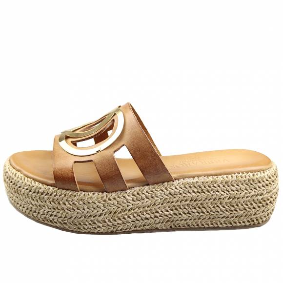 Γυναικεία Flatforms Verraros k164 Natural