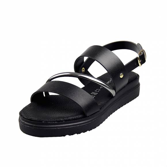 Γυναικεία Flatforms Verraros 35960 Black
