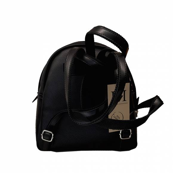 Γυναικεία Τσάντα Backpack Eco Leather Pierro Accessories 90566DL01 Black